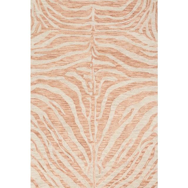 "Loloi Rugs Loloi Rugs Blush / Ivory Masai Rug- 7'9""x9'9"" For Sale - Image 4 of 4"