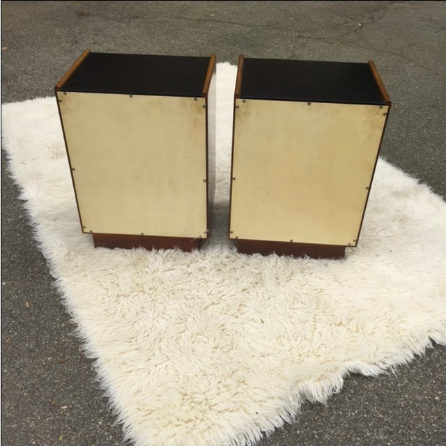 Harvey Prober Bedside Tables - Pair - Image 7 of 11