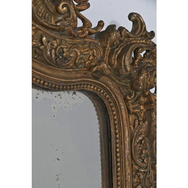 About the same time the French were making those wonderful and simple Louis Philippe mirror the Italians were making these...