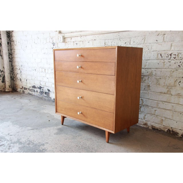 Mid-Century Modern George Nelson for Herman Miller Thin Edge Dresser, Model 4620 For Sale - Image 3 of 11