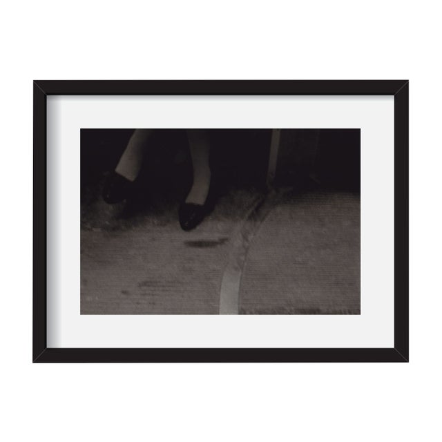 "John Nanian ""Feet on the Subway"" Framed Print - Image 1 of 3"