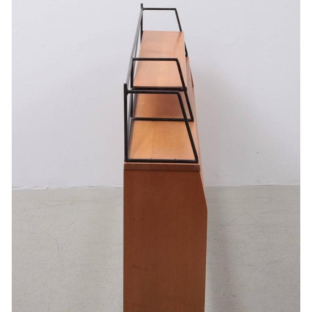 """Mid-Century Modern Paul McCobb Wrought Iron """"Planner Group"""" Headboard for Winchendon For Sale - Image 3 of 6"""