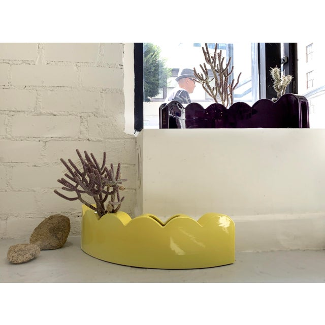 Ceramic Edger Vase by Micah Heimlich For Sale - Image 7 of 9