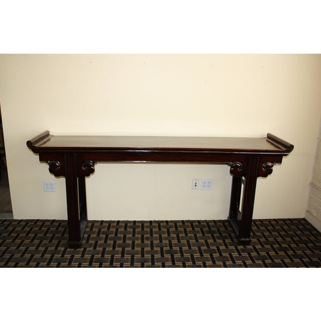 McGuire Asian Antiquity Long Altar Table - Image 7 of 7