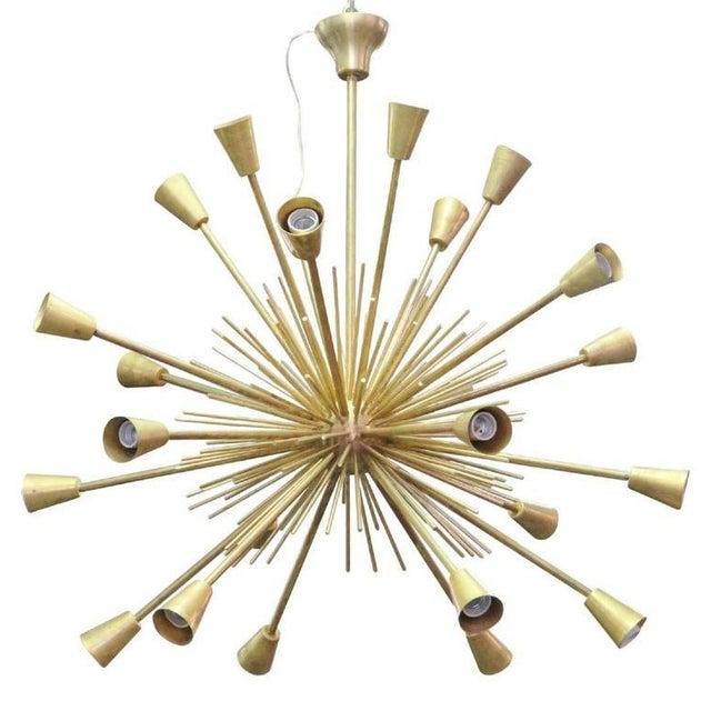 Mid 20th Century Modern Design Sputnik Chandelier For Sale - Image 5 of 5