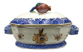 Image of Blue Soup Tureens