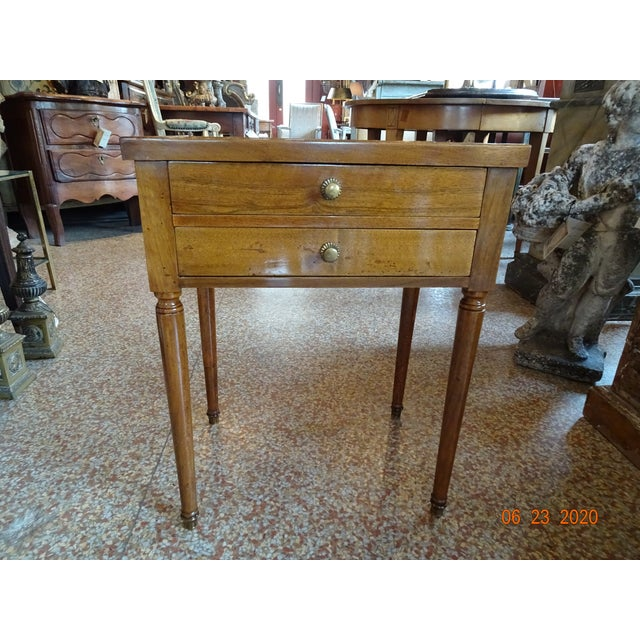French Marble Side Table For Sale - Image 10 of 13