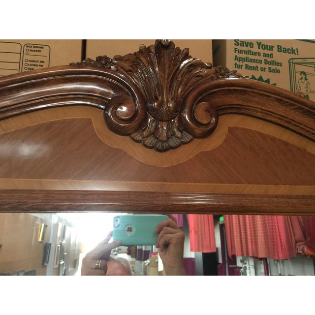 Large Loius XVI French Pier Mirror For Sale - Image 9 of 13