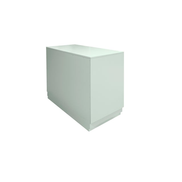 Industrial Minimalistic Maple Filing Cabinet From Garden Street in Ocean For Sale - Image 3 of 6