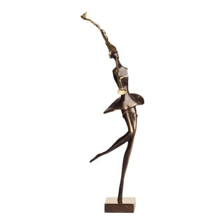 Muse Bronze Sculpture For Sale