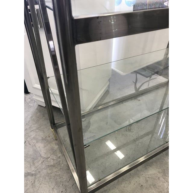 Dia Etagere with Glass Shelves For Sale - Image 12 of 13