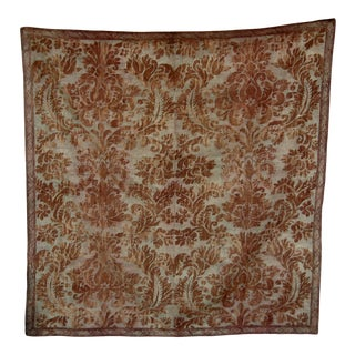 1920s Fortuny Textile Tablecloth - Wall Hanging For Sale