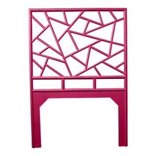 Tiffany Headboard Twin - Bright Pink For Sale