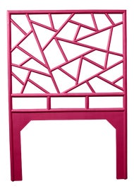 Image of Bright Pink Headboards