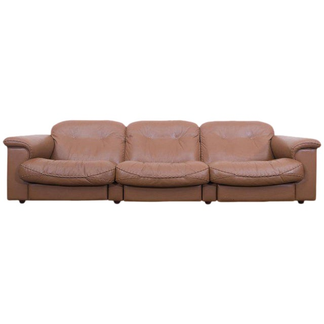 Adjustable DS 101 Three-Seat Sofa by De Sede For Sale