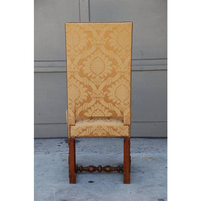 Pair of Exceptional French Gold Chairs For Sale - Image 4 of 7