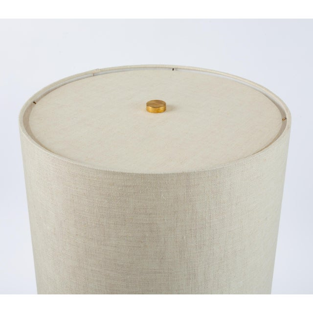 White Drip-Glaze Stoneware Lamp by David Cressey for Architectural Pottery For Sale - Image 8 of 9