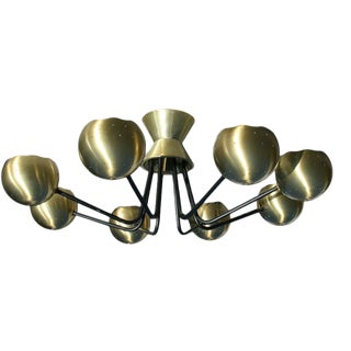 Chandelier by Gerald Thurston for Lightolier For Sale