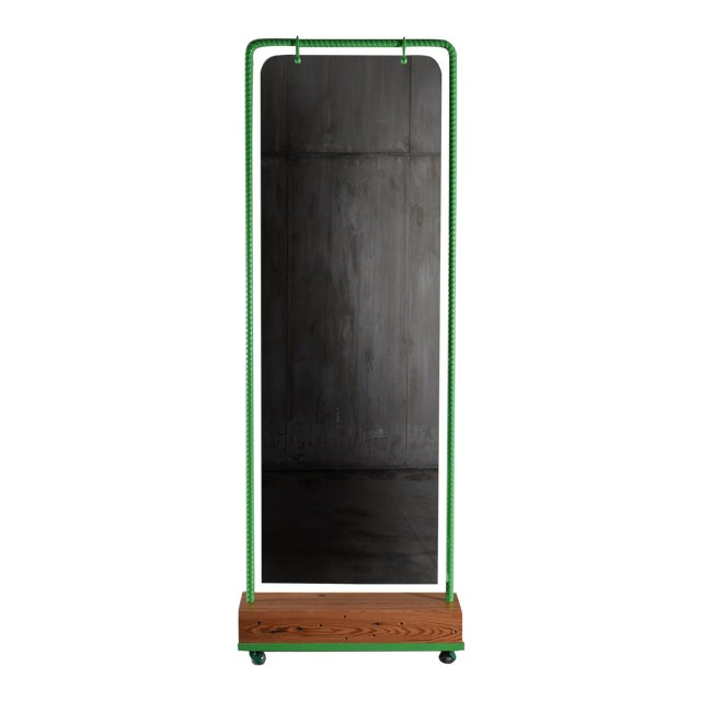 Customizable Nefertiti Dressing Mirror by Artist Troy Smith - Contemporary Design - Artist Proof - Limited Edition For Sale