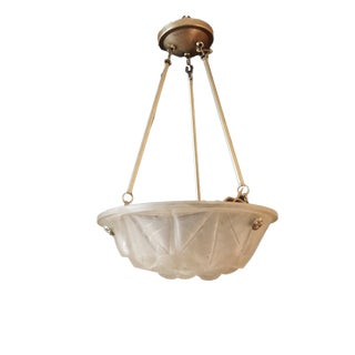 Degue French Plafonier Frosted Glass Ceiling Lamp