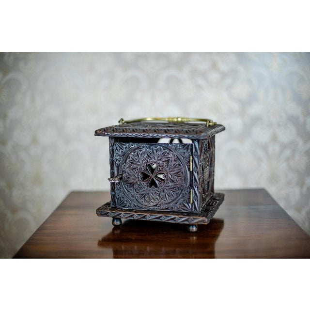 Late 18th Century Wooden Foot Warmer For Sale - Image 11 of 11