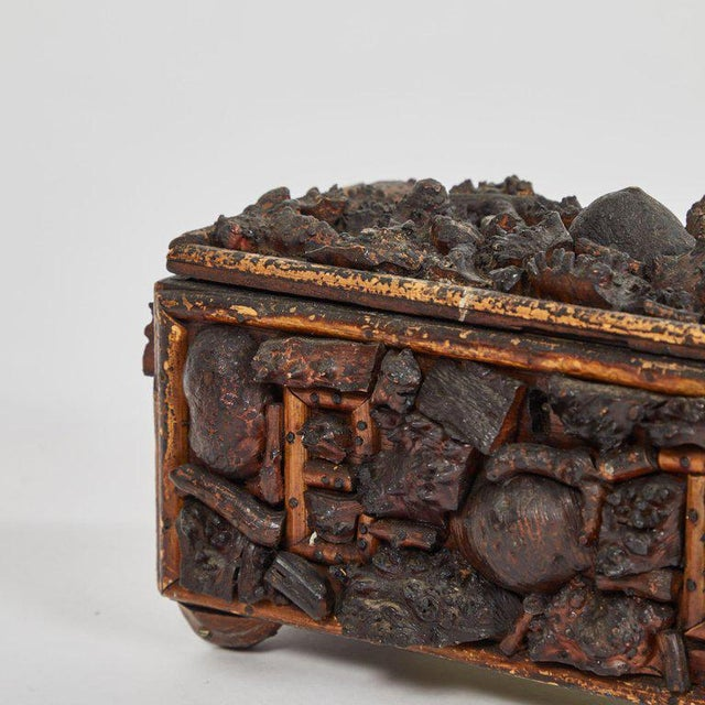 Contemporary Early 19th Century Naive Box For Sale - Image 3 of 5