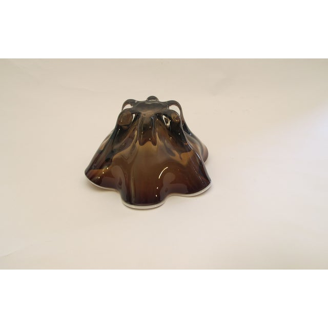 Hand Molded Glass Bowl - Image 4 of 5