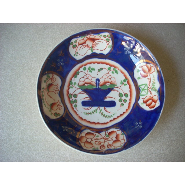 Gaudy Welsh Cups & Saucers -A Pair For Sale - Image 4 of 5
