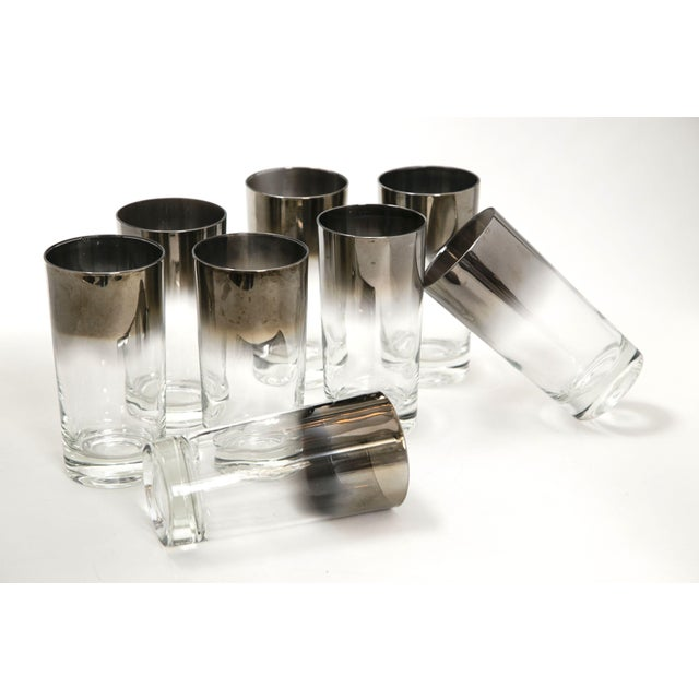 Mid-Century Silver Highball Glasses - Set of 8 - Image 2 of 6