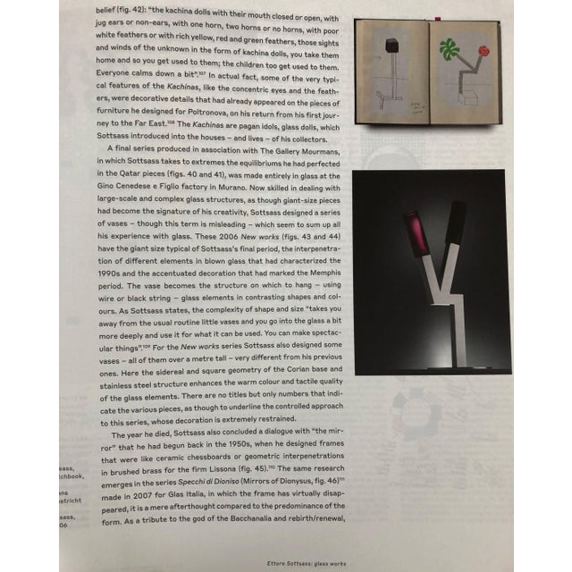 Ettore Sottsass: The Glass, 2018 Paperback For Sale In Washington DC - Image 6 of 9