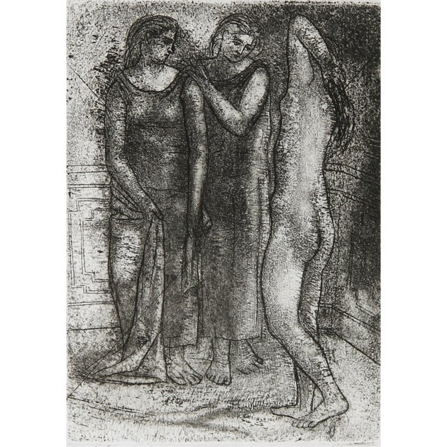 Artist: Pablo Picasso, After, Spanish (1881 - 1973) Title: Groupe de Trois Femmes Year: 1922-23 (printed circa 1968)...