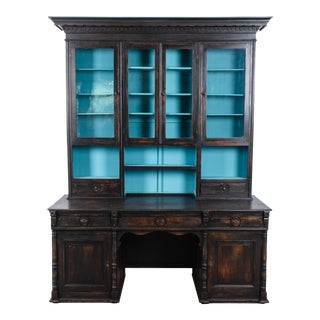 19th Century French Notary Desk For Sale