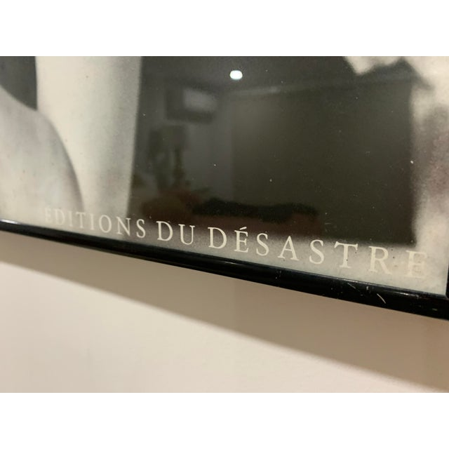 1986 Editions Du Désastre Reproduction Fashion Print After Henry Clarke, Framed For Sale In Miami - Image 6 of 13