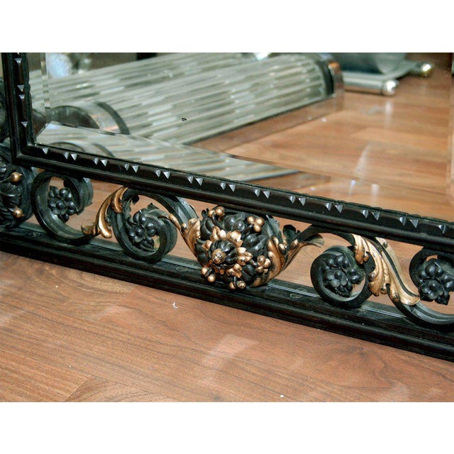 Art Deco Art Deco Mirror Attributed to Poillerat For Sale - Image 3 of 6