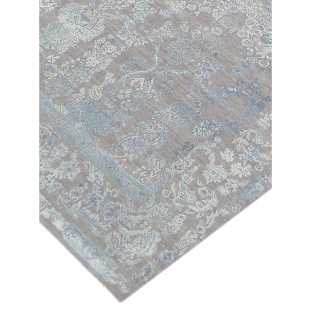 "Pasargad Transitiona Silk & Wool Rug- 8'11"" x 12' - Image 3 of 4"