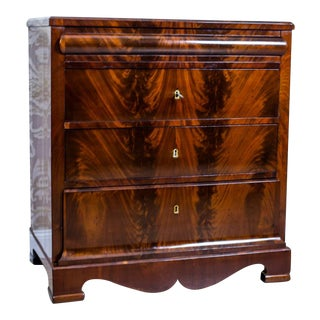 1860s Biedermeier Dresser-Vanity Table For Sale