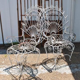Pair of 1960s John Salterini Vintage Midcentury Peacock Chairs Preview