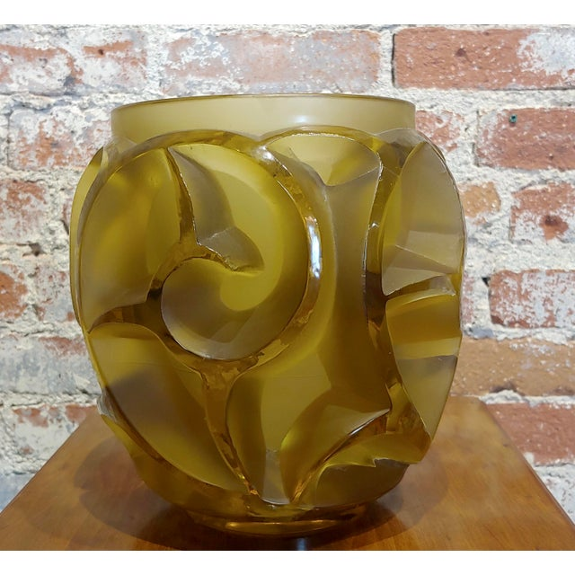 Renee Lalique No.973 Tourbillons Vase For Sale - Image 11 of 11