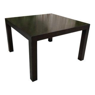 "Modern Mies Van Der Rohe for Knoll Studio 1927 ""Krefeld"" Wood Coffee Table For Sale"