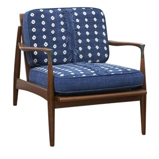 Custom Mid Century Lounge Chair