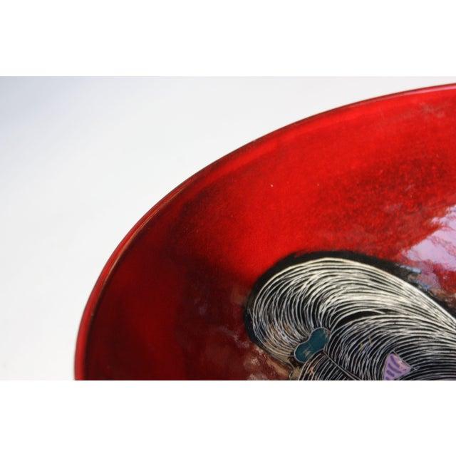 Mid Century Italian Modern Melior Enamel Bowl For Sale - Image 9 of 11