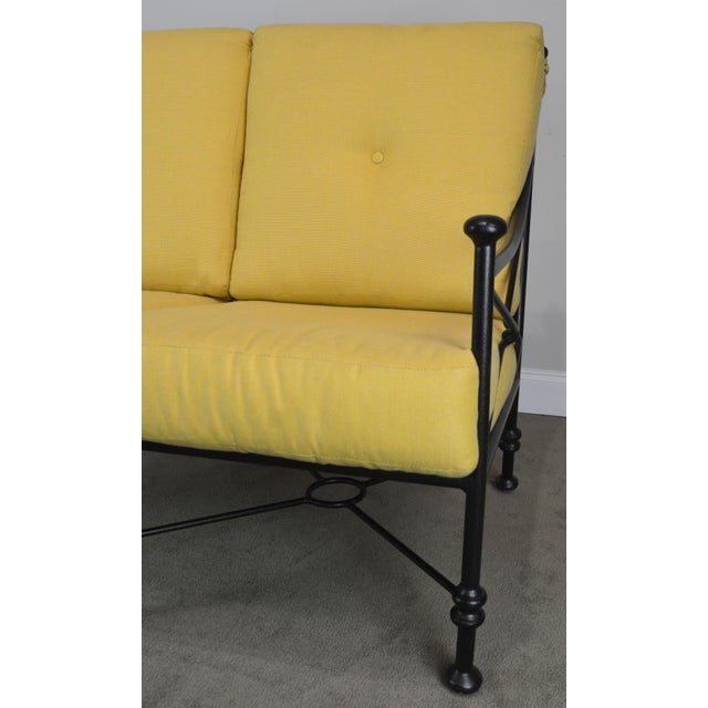 Giacometti Style Patio Love Seat by Winston For Sale - Image 10 of 13