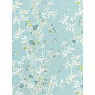 Scalamandre Jardin De Chine, Ciel Wallpaper For Sale