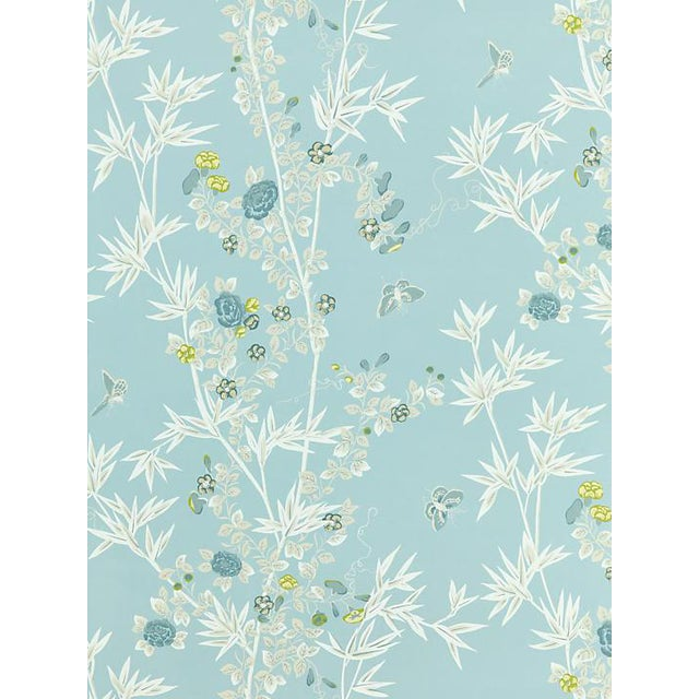 Scalamandre Jardin De Chine, Ciel Wallpaper For Sale