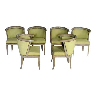 Harold Schwartz for Romweber M-744 Chairs - Set of 6 For Sale