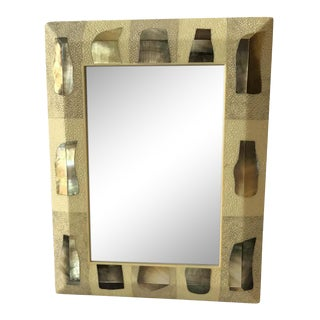R & Y Augousti Shagreen Picture Frame For Sale