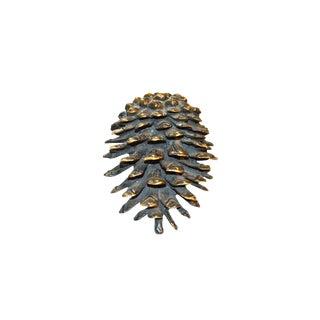 Bronze Pinecone Door Knocker For Sale