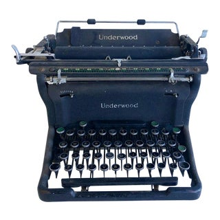 Antique Underwood Brand Typewriter For Sale