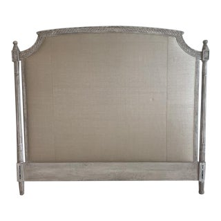 French Provincial Custom-Made King Headboard For Sale