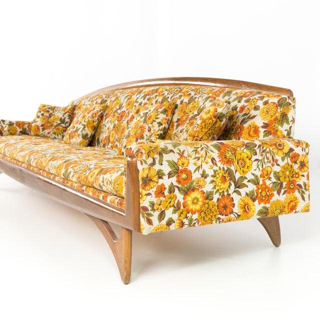 Pleasing Mid Century Modern Kroehler Gondola Sofa Creativecarmelina Interior Chair Design Creativecarmelinacom